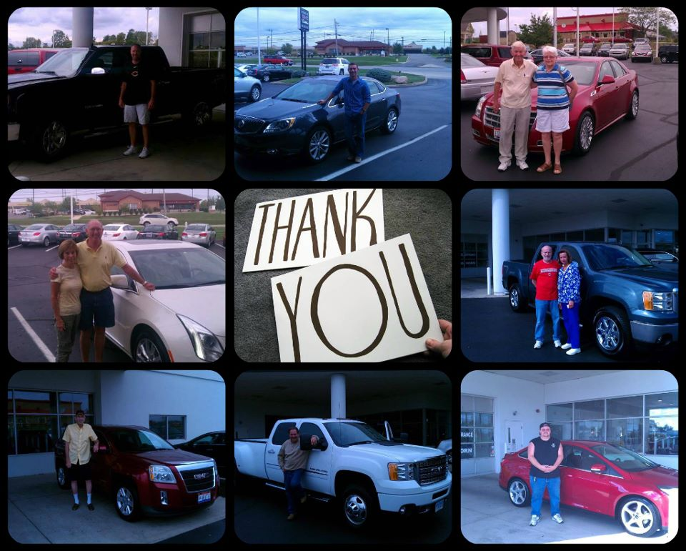 August 2012 New Bill DeLord Cadillac Buick GMC Customers